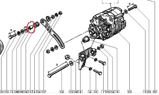 tête et doigt d/'allumeur axe 10 mm Super 5 GT Turbo
